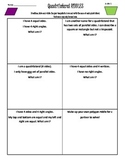 3rd Grade Common Core Geometry Riddles - Quadrilaterals