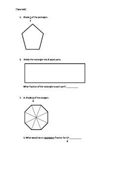 3rd Grade Common Core Geometry Unit Test