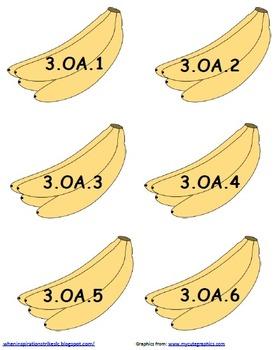 3rd Grade Common Core Going Bananas Tree Display