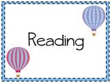 3rd Grade Common Core I Can Statements with Balloons