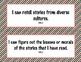 3rd Grade Common Core I Can Statements {Bold Diagonal Stripes Theme}