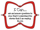 "3rd Grade Common Core ""I Can"" Statements for Reading"