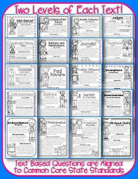 3rd Grade Common Core: Informational Text Passages for Close Reading & Homework