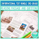 3rd Grade Common Core: Informational Texts (Standards RI.3.1 - RI.3.9)