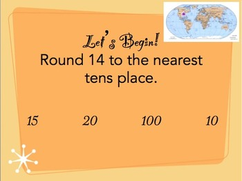 3rd Grade - Common Core - Interactive Math Game (PowerPoint Version)