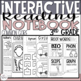 Reading Interactive Notebook 3rd Grade CCSS