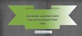 3rd Grade Common Core Interactive School Year Lesson Plan Tool