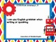 """3rd Grade Common Core Language - """"I Can"""" Learning Targets - Robots"""