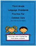 3rd Grade Common Core Language L3.4d Unit14 Depth of Knowledge
