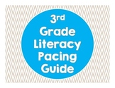 3rd Grade Common Core Literacy Pacing Guide
