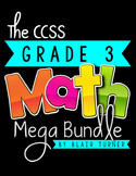 3rd Grade Common Core MATH MEGA BUNDLE {Assessments & Task