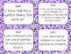 "3rd Grade Common Core MATH Standards ""I Can"" Statements"