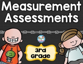 Measurement Tests 3rd Grade