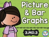 Picture Graphs and Bar Graphs Math Tasks and Exit Tickets