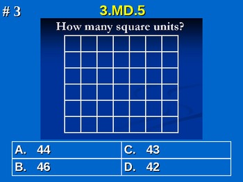 3rd Grade Common Core Math 3 MD.5 Geometric Measurement 3.MD.5