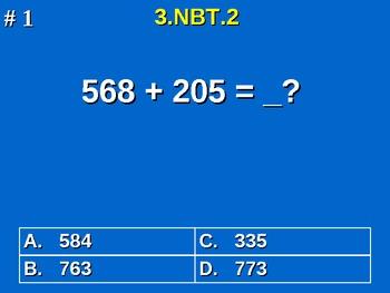 3rd Grade Common Core Math 3 NBT.2 Add & Subtract Within 1,000 3.NBT.2