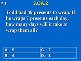3rd Grade Common Core Math 3 OA.2 Division Word Problems 3.OA.2