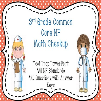 3rd Grade Math Review PowerPoint for 3rd Grade Fractions C