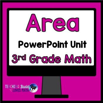 Area Math Unit 3rd Grade Common Core