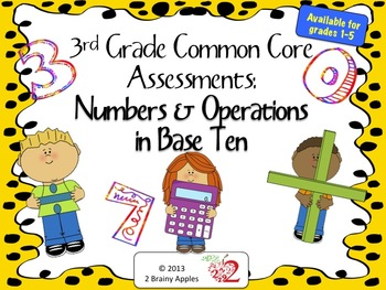 Math, Number & Operations, Place Value, Addition, Subtraction 3rd Grade