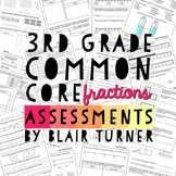 3rd Grade Common Core Math Assessments - Numbers and Opera