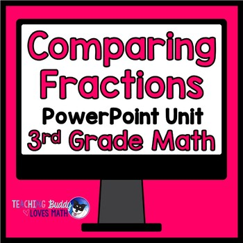 Comparing Fractions Math Unit 3rd Grade Common Core