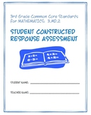 3rd Grade Common Core Math:  Constructed Response Assessment (CRA): 3.MD.2