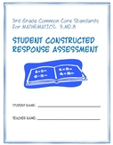 3rd Grade Common Core Math: Constructed Response Assessment (CRA): 3.MD.8