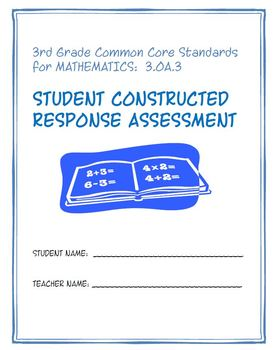 Constructed Response Assessment (CRA): 3.OA.3 - 3rd Grade Common Core