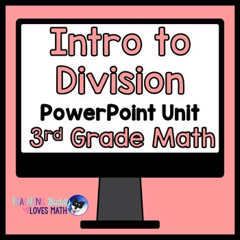 Introduction to Division Math Unit 3rd Grade Common Core