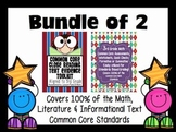 3rd Grade Math & ELA Bundle 100% Common Core Aligned
