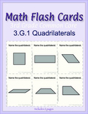 3rd Grade Common Core Math Flash Cards, 3.G.1 Quadrilaterals