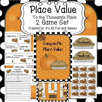 Place Value to the Thousands Place Game