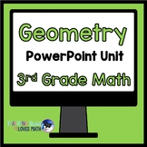 Geometry Shape Attributes Math Unit 3rd Grade Common Core