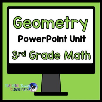 Geometry Shape Attributes Math Unit 3rd Grade Common Core