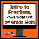 Introduction to Fractions Math Unit 3rd Grade Common Core