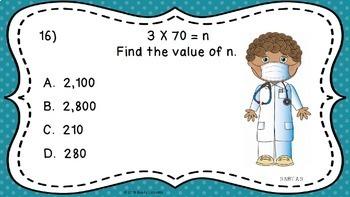 3rd Grade Math Test Prep 3rd Grade Math Review PowerPoint Common Core Math 3.NBT