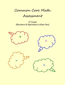 3rd Grade Common Core Math: Numbers & Operations in Base Ten