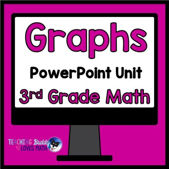 Picture Graphs and Bar Graphs Math Unit 3rd Grade Common Core