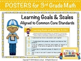 3rd Grade Common Core Math Posters (3.NBT.1-3) with Marzan