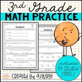 3rd Grade Math Review - Spiral Review Worksheets | Print and Digital