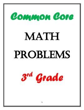 3rd Grade Common Core Math Practice