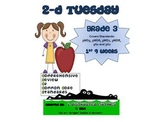 3rd Grade Common Core Math Review:  2-D Tuesday   1st 9 Weeks
