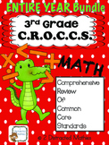 3rd Grade Common Core Math Review:  ENTIRE YEAR of Daily Reviews