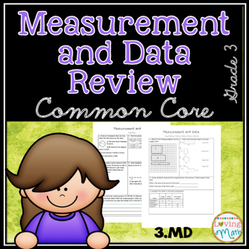 Common Core Math Review Measurement and Data (MD) Test Prep