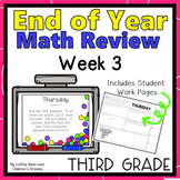 Third Grade End of Year Math Review Week 3