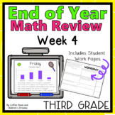Third Grade End of Year Math Review Week 4