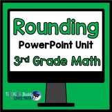 Rounding Numbers Math Unit 3rd Grade Common Core