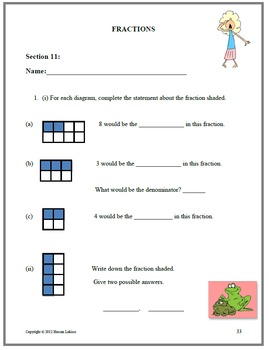 3rd Grade Common Core Math Standards Complete Course