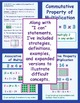 "Common Core ""I Can"" Statements: 3rd Grade Math Standards DELUXE SET"